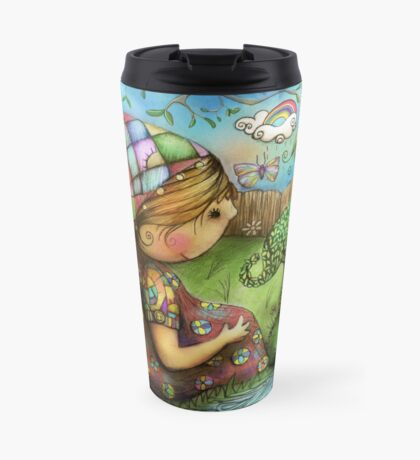 There's an Elephant in my Garden Travel Mug