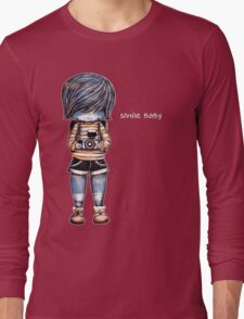 Smile Baby - Retro Tee Long Sleeve T-Shirt