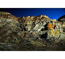 Volcano or moon Photographic Print