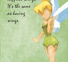 Peter Pan inspired design (Tinkerbell). by topshelf