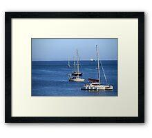 Pantone Cascais Framed Print