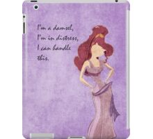 Hercules inspired design (Meg) iPad Case/Skin