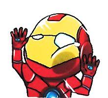 Iron man Photographic Print