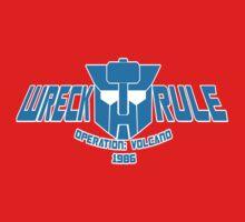 Wreckers: Operation Volcano Kids Tee