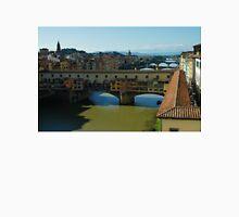 The Bridges of Florence, Italy Unisex T-Shirt