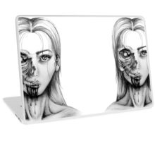 Zombie Girl Laptop Skin