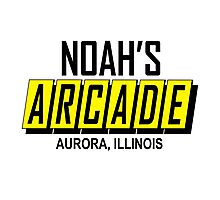 Noah's Arcade Logo Wayne's World Photographic Print