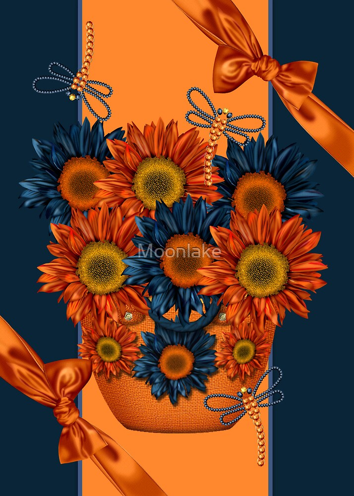 Any Occasion Card - Basket Of Sunshine by Moonlake
