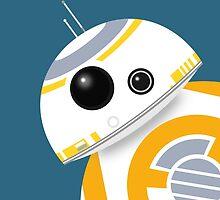 BB-8 Peekaboo by conniekidd