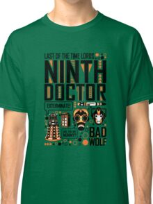 The Ninth Doctor Classic T-Shirt