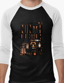 The Ninth Doctor Men's Baseball ¾ T-Shirt