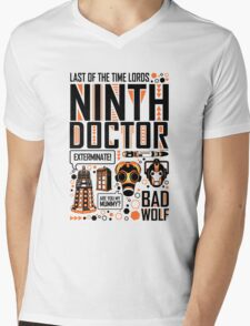 The Ninth Doctor Mens V-Neck T-Shirt