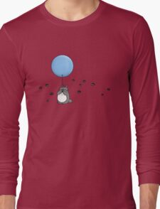 """Nobody can be uncheered with a balloon"" Long Sleeve T-Shirt"