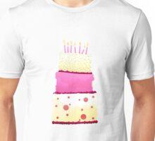 Birthday Cake Unisex T-Shirt