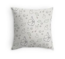 My Neighbour Totoro Pattern Throw Pillow