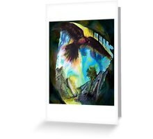 Into the Dark Greeting Card