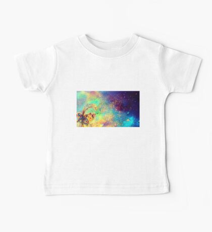 GARDEN OF THE LOST SHADOWS MAGIC BUTTERFLY PLANT Baby Tee