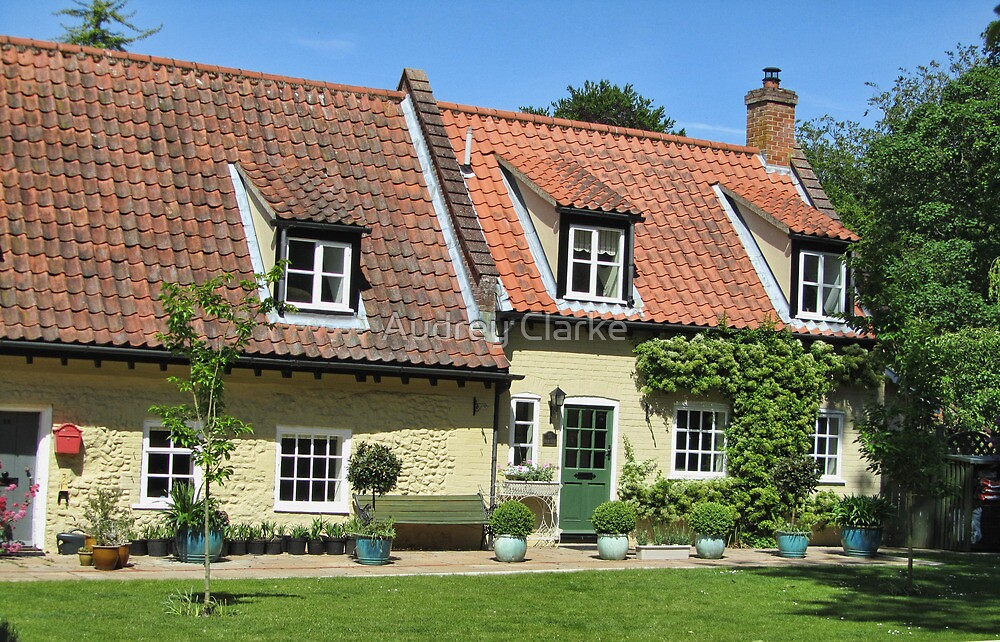 Walsingham Cottages by Audrey Clarke