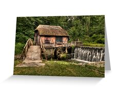 Gomez Mill Greeting Card