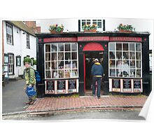 Post Office: Alfriston Village, East Sussex, England, UK. Poster