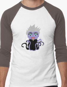 Chibi Ursula  Men's Baseball ¾ T-Shirt