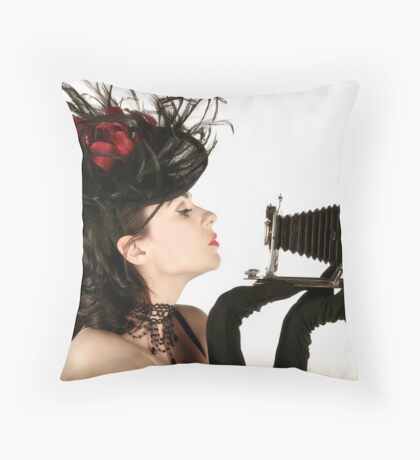 Kodak Klose-Up Throw Pillow