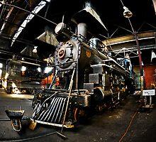 Baldwin Steam Engine No. 40 by Sam Scholes