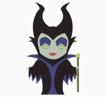 Chibi Maleficent One Piece - Long Sleeve
