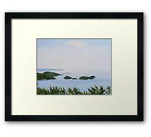 Hydro Bay Framed Print