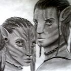 Avatar - Jake and Neytiri by SoCold