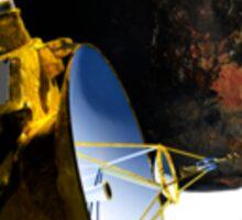 Pluto Encouter Realistic Sticker