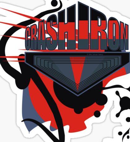 Crash Iron Sticker