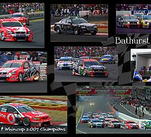 Bathurst 1000 - Lowndes & Whincup by clydeessex