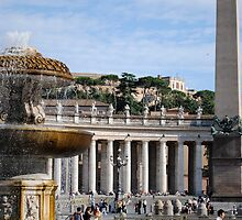 Piazza San Pietro by Laura Browning