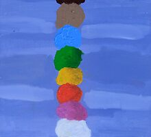 'The Ice Cream Tower' by Bridget Sinnamon (2014) by Peter Evans Art