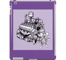 Lincoln Zephyr V12 Engine iPad Case/Skin