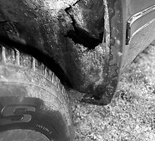 Tire and Wheel Well by Schutte14