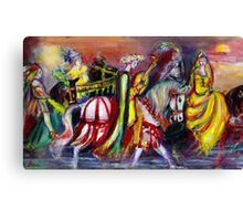 RIDERS IN THE NIGHT Canvas Print
