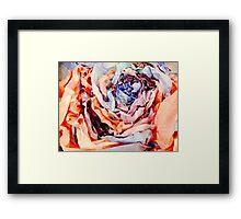 Rose Sculpture Framed Print