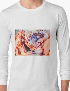 Rose Sculpture Long Sleeve T-Shirt