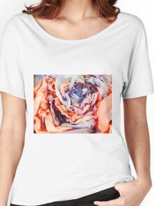 Rose Sculpture Women's Relaxed Fit T-Shirt