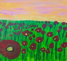 'Poppy Fields' by Bridget Sinnamon (2014) by Peter Evans Art