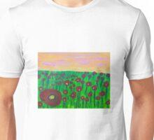'Poppy Fields' by Bridget Sinnamon (2014) Unisex T-Shirt
