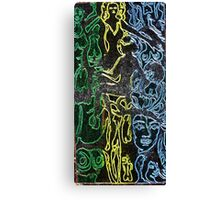 cool girls tripping Canvas Print