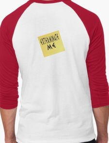 EXTERMINATE ME Men's Baseball ¾ T-Shirt