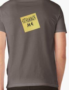 EXTERMINATE ME Mens V-Neck T-Shirt