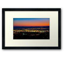 Albuquerque Sunset - Print Framed Print