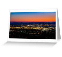 Albuquerque Sunset - Print Greeting Card