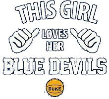Duke Blue Devils Photographic Print