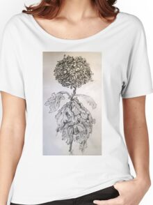 Chrysanthemum after Piet Mondrian Women's Relaxed Fit T-Shirt